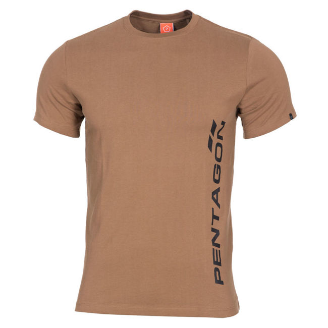 Ageron-T-shirt-Pentagon Vertical - Coyote