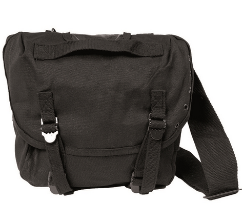 BLACK US M67 COMBAT PACK WITH STRAP