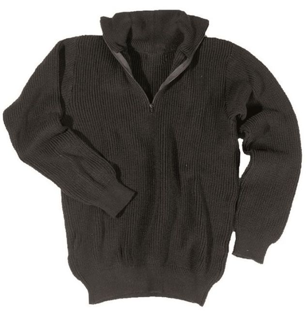Black SWEATER TROYER