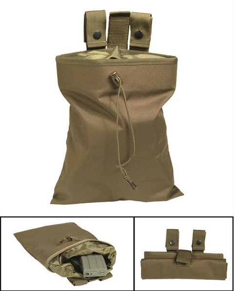 COYOTE EMPTY SHELL POUCH Mil-Tec