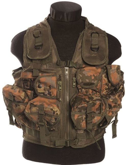 Flecktarn VEST TACTICAL (9 POCKETS)