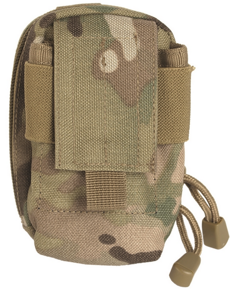 MULTICAM PADDED BELT POUCH