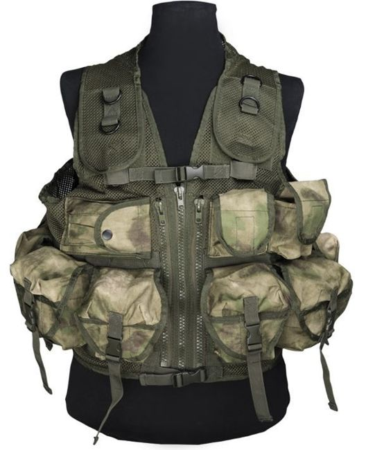 Mil-Tacs FG VEST TACTICAL (9 POCKETS)