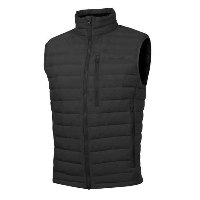 PATROCLUS DUCK DOWN VEST - Black