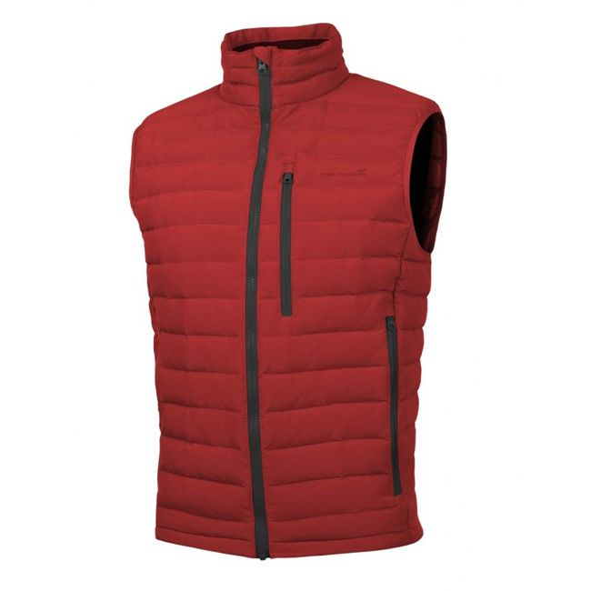 PATROCLUS DUCK DOWN VEST - Red