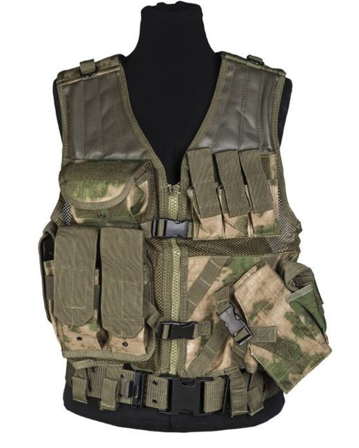 USMC Mil-Tacs FG COMBAT VEST WITH BELT