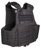 BLACK LASER CUT CARRIER VEST